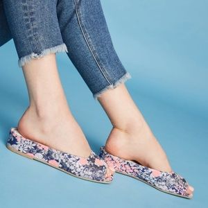 Jeffrey Campbell Floral Micro Wedges